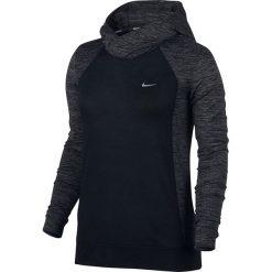 Bluzy damskie: bluza do biegania damska NIKE DRY HOODIE CITY WOOL / 802931-010