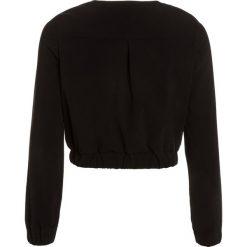 Patrizia Pepe Kurtka Bomber black. Czarne kurtki chłopięce marki Patrizia Pepe, z elastanu. W wyprzedaży za 405,30 zł.