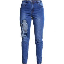 Rurki damskie: Missguided Jeansy Slim Fit blue