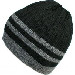 Czapka męska czarno-szara (CZ 164C). Czarne czapki zimowe męskie Proman. Za 36,18 zł.