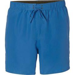 Spodenki kąpielowe bonprix lazurowy. Niebieskie kąpielówki męskie bonprix. Za 37,99 zł.