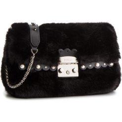 Torebka FURLA - Metropolis Nuvola 993958 B BUK2 N22 Onyx. Czarne torebki klasyczne damskie Furla, z materiału. Za 1470,00 zł.