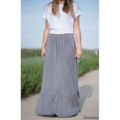 Maxi spódnica boho z kieszeniami. Szare długie spódnice Pakamera, boho. Za 219,00 zł.