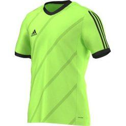 Adidas Koszulka piłkarska męska Tabela 14 zielono-czarna r. XL (F50275). Czarne t-shirty męskie Adidas, m, do piłki nożnej. Za 59,00 zł.