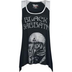 Black Sabbath EMP Signature Collection Top damski melanż czarny/szary. Czarne topy damskie Black Sabbath, m, melanż, z materiału. Za 89,90 zł.