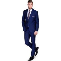 Garnitur CRISTIANO 1 E15-34P. Niebieskie garnitury Giacomo Conti, z tkaniny. Za 699,00 zł.