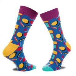 Skarpety Wysokie Męskie HAPPY SOCKS - NIN01-6000 Granatowy Kolorowy. Czerwone skarpetki męskie marki Happy Socks, z bawełny. Za 34,90 zł.