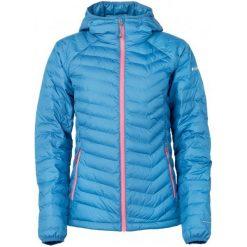 Kurtki sportowe damskie: Columbia Kurtka Damska Powder Lite Hooded Jacket Phoenix Blue Xs