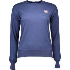 Swetry klasyczne damskie: Sweter w kolorze niebieskim