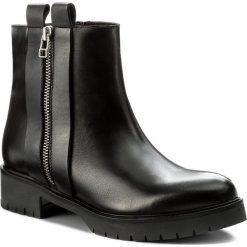 Botki EVA MINGE - Tatiana 2D 17GR1372263EF 101. Czarne buty zimowe damskie Eva Minge, z polaru. W wyprzedaży za 299,00 zł.