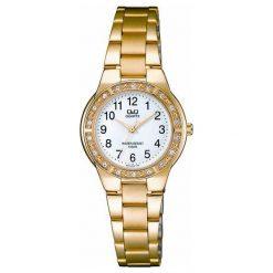 Zegarki damskie: Zegarek Q&Q Damski  Q691-004 Cyrkonie Biżuteryjny