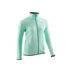Bluza S500. Zielone bluzy dziewczęce rozpinane DOMYOS. Za 39,99 zł.