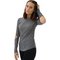 Bluzki damskie: Bluzka w kolorze antracytowym
