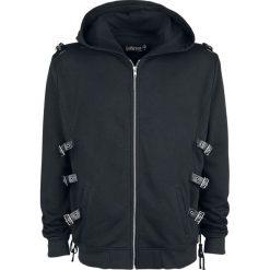 Gothicana by EMP Mask Of Sanity Bluza z kapturem rozpinana czarny. Brązowe bluzy męskie rozpinane marki SOLOGNAC, m, z elastanu. Za 264,90 zł.