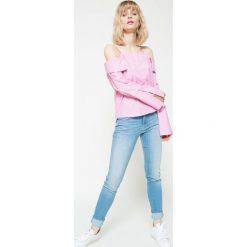 Lee - Jeansy. Niebieskie jeansy damskie marki Lee, z bawełny. W wyprzedaży za 179,90 zł.