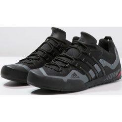 Adidas Performance TERREX SWIFT SOLO Buty wspinaczkowe black/lead. Czarne buty trekkingowe męskie adidas Performance. Za 399,00 zł.