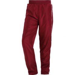 Spodnie dresowe męskie: Wood Wood ROBBY Spodnie treningowe dark red/offwhite