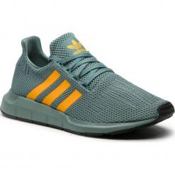 Buty adidas - Swift Run D96643  Rawgrn/Reagol/Cblack. Niebieskie buty skate męskie Adidas, z materiału. Za 379,00 zł.