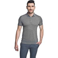 Koszulka polo piave szary. Szare koszulki polo marki Recman, m, z długim rękawem. Za 49,99 zł.