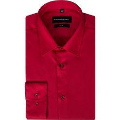 Koszula SIMONE KDTS000169. Czerwone koszule męskie na spinki marki Cropp, l. Za 169,00 zł.