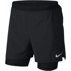 Nike Szorty Męskie M Nk Dstnce 2In1 Short 5in Black Xxl. Czarne spodenki sportowe męskie Nike, z materiału, sportowe. Za 195,00 zł.