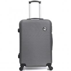 """Walizka """"London"""" w kolorze antracytowym - 47 x 70 x 29 cm. Szare walizki marki Hero & BlueStar, z materiału. W wyprzedaży za 260,95 zł."""