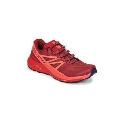 Buty do biegania Salomon  SENSE RIDE W. Fioletowe buty do biegania damskie marki KALENJI, z gumy. Za 398,30 zł.