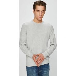Pepe Jeans - Sweter. Szare swetry klasyczne męskie Pepe Jeans, l, z bawełny, z okrągłym kołnierzem. Za 259,90 zł.