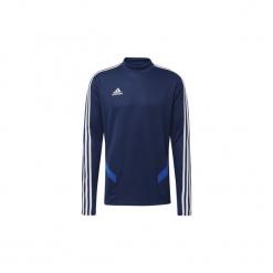 Polary adidas  Bluza treningowa Tiro 19. Niebieskie bluzy męskie marki Adidas, m. Za 199,00 zł.