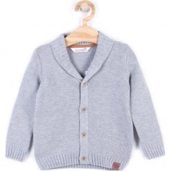 Sweter. Szare swetry chłopięce KNIGHT, z bawełny. Za 54,90 zł.