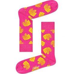 Happy Socks - Skarpety Jaguar. Różowe skarpetki męskie Happy Socks, z bawełny. W wyprzedaży za 29,90 zł.