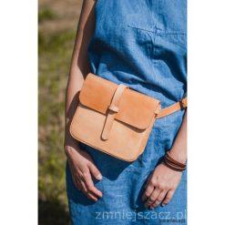 Torebka skórzana na ramię/biodro B3. Szare torebki klasyczne damskie Pakamera, z materiału. Za 350,00 zł.