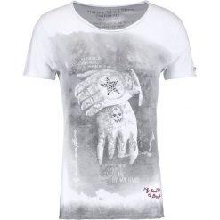 T-shirty męskie z nadrukiem: Key Largo ALIVE Tshirt z nadrukiem white