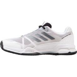 Adidas Performance BARRICADE CLUB CLAY Obuwie do tenisa Outdoor core black/night metallic/footwear white. Czarne buty do tenisa męskie adidas Performance, z gumy. W wyprzedaży za 263,20 zł.