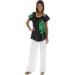 T-shirty damskie: Koszulka w kolorze zielono-oliwkowym