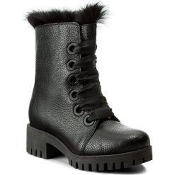 Buty zimowe damskie: Botki L37 - Punk Loft Fur SS11V5 Czarny