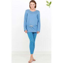 """Bluzy damskie: Bluza """"Erica"""" w kolorze błękitnym"""