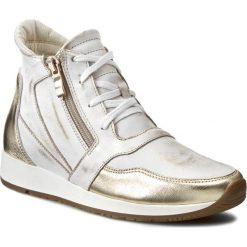 Sneakersy damskie: Sneakersy ROBERTO – 457 Złoto