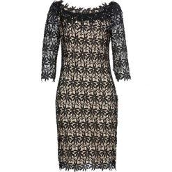 Sukienki balowe: Sukienka bonprix czarno-jasnobrązowy