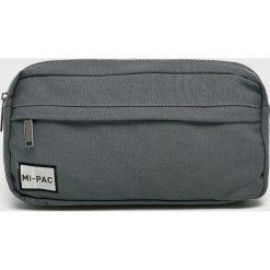 Mi-Pac - Nerka. Szare walizki marki Mi-Pac, w paski, z bawełny, małe. W wyprzedaży za 79,90 zł.