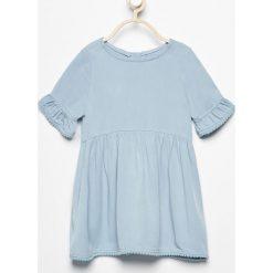 Sukienka - Niebieski. Niebieskie sukienki dziewczęce Reserved. W wyprzedaży za 39,99 zł.
