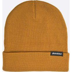Dickies - Czapka. Pomarańczowe czapki zimowe męskie Dickies, na zimę, z dzianiny. Za 69,90 zł.