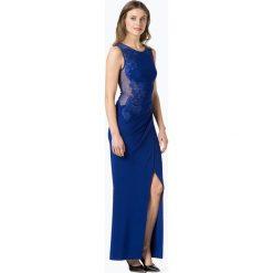 Lipsy - Damska sukienka wieczorowa, niebieski. Niebieskie sukienki balowe Lipsy, z koronki. Za 499,95 zł.