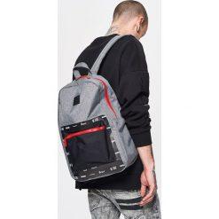 Plecak z kieszenią - Szary - 2