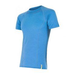 Sensor Koszulka Termoaktywna Merino Wool Active M Blue Xl. Niebieskie koszulki turystyczne męskie Sensor, m, z materiału. Za 195,00 zł.