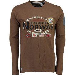"""T-shirty męskie: Koszulka """"Jarbone"""" w kolorze szarobrązowym"""