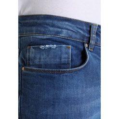 Jeansy męskie regular: Antioch RIPS Jeansy Straight Leg mid blue