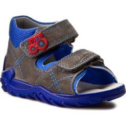 Sandały męskie skórzane: Sandały SUPERFIT – 0-00011-06 Stone Kombi
