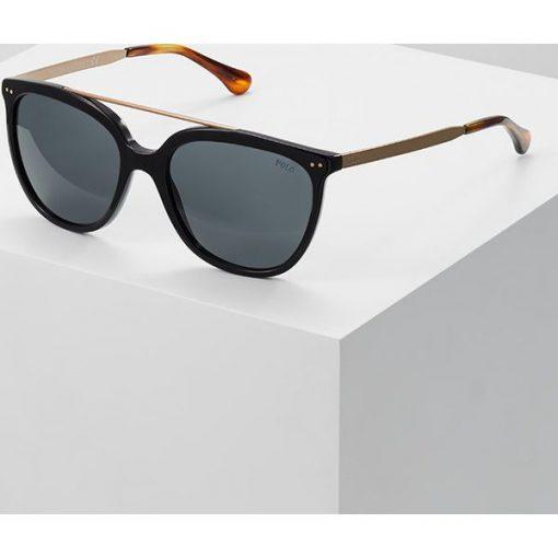 700f29485065 Polo Ralph Lauren Okulary przeciwsłoneczne black - Czarne okulary  przeciwsłoneczne damskie Polo Ralph Lauren. Za 569