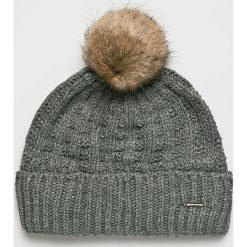 Barts - Czapka. Szare czapki zimowe damskie marki Barts, na zimę, z dzianiny. Za 169,90 zł.